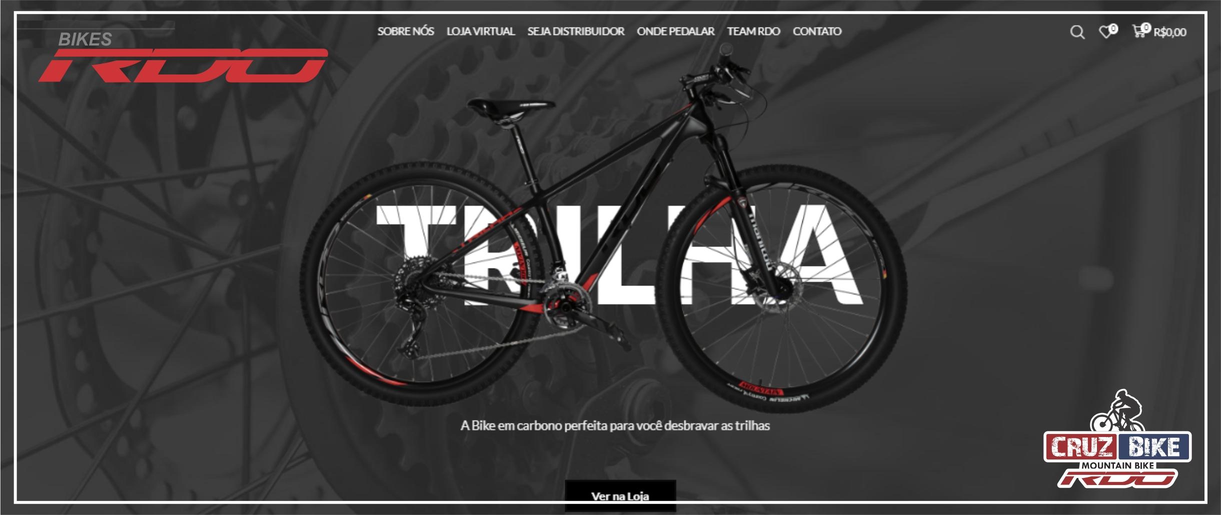 Visite o site das Bikes RDO